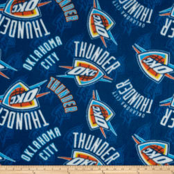 NBA Oklahoma City Thunder Fleece Multi Fabric