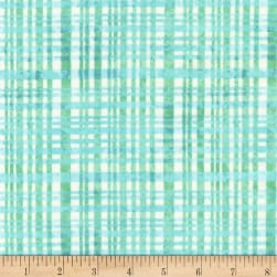 Kaufman Little One 2 Plaid Water