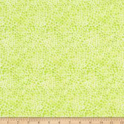 Wilmington Bloom True Pebble Texture Green Fabric