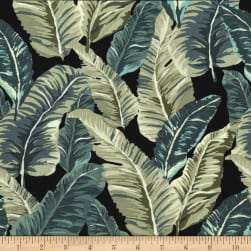 Michael Miller Fabrics Lush Leaves Slate Fabric