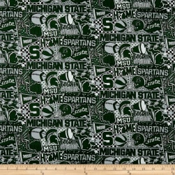 NCAA Michigan State Pop Art Cotton