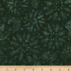 Timeless Treasures Tonga Batik Mini Emerald Wintry Mix