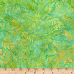 Timeless Treasures Tonga Batik Runaway Outback Lime