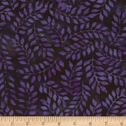 Timeless Treasures Tonga Batik Runaway Shrub Storm Fabric