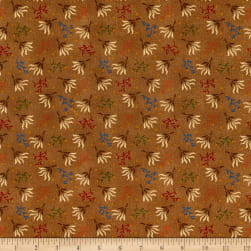 Henry Glass Spiced 108'' Quilt Back Seaweed Brown Fabric