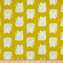 Andover Cats and Dogs Cats Yellow
