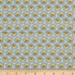Andover Bed of Roses Lazy Dazy Dusty Teal