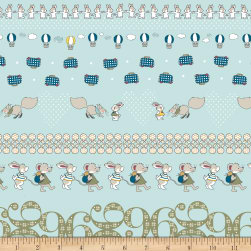 Stof Fabrics Denmark Count On Me Woodland Animals