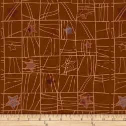 Stof Fabrics Denmark Glimmering Holiday Brown/Copper Fabric