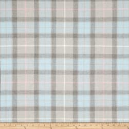 Home Accent Shannon Wool Blend Plaid Heather Fabric