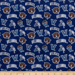NCAA Villanova Wildcats Tonal Logos Blue/Brown