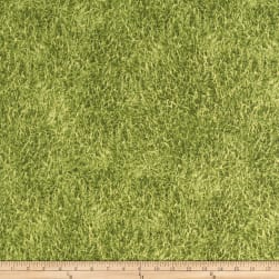 ArtCo Prints Canvas Grass Green Fabric
