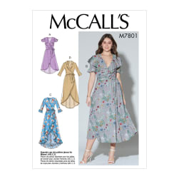 McCall's M7801 A/B, C and D Cup Sizes