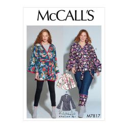 McCall's M7817 Khaliah Ali Misses'/Women's Jackets RR (Sizes