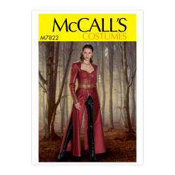 McCall's M7822 Misses' Costume A5 (Sizes 6-14)