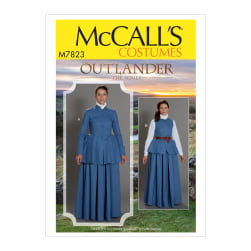 McCall's M7823 Outlander Misses' Costume A5 (Sizes 6-14)
