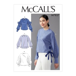 McCall's M7837 Misses Top/Vest Pattern E5 (Sizes 14-22)