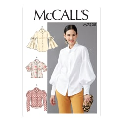 McCall's M7838 Misses Top/Vest Pattern E5 (Sizes 14-22)