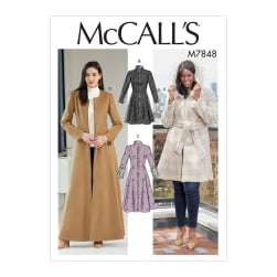 McCall's M7848 Miss Pls Petite Coat Pattern (Sizes