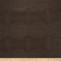 Fabricut Osmium Faux Leather Chocolate Fabric