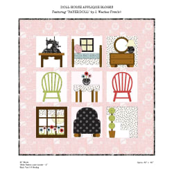 Riley Blake Designs Dollhouse Quilt Kit by Janet