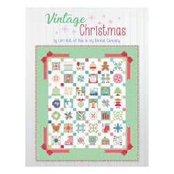 Riley Blake Designs Vintage Christmas Quilt Kit by