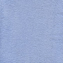 Terry Cloth Blue Fabric