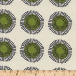 Cotton + Steel Imagined Landscapes Seaside Daisy Sage Fabric