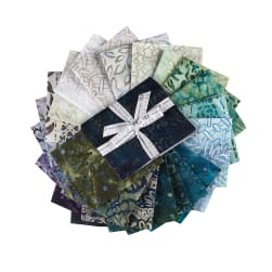 Kaufman Fat Quarter Bundle Artisan Batiks: Terrace