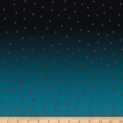 Riley Blake Gemstones Multi Color Ginger Blue Fabric