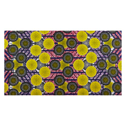 Shawn Pahwa African Print Kgabu Yellow/Black Fabric