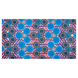 Shawn Pahwa African Print Kgabu Blue/Black Fabric