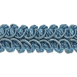 Alice Classic Woven Braid Trim Blue