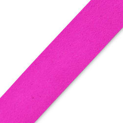 Faux Suede Strip Trim Fuchsia