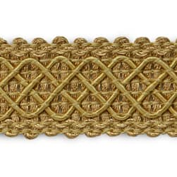 Jolie Lattice Braid Trim Gold