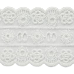 "Leila 2 3/4"" Classic Galloon Scalloped Lace Trim"