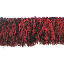 Chenille Cut Fringe Trim - LB5624K Cranberry Multi
