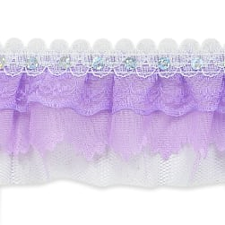 Elenor Sequin Embellished Lace Trim 2 1/6