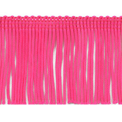 Shanti 2in Multi Color Fringe Trim Multi Colors Precut 10 Yard