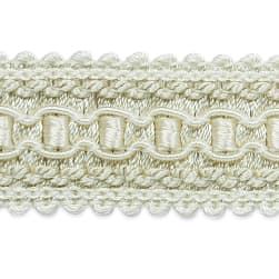 Bella Woven Braid Trim Ivory (Precut 20 Yard)
