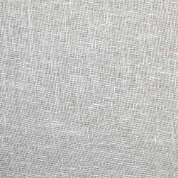 100% European Linen Scrim White Fabric