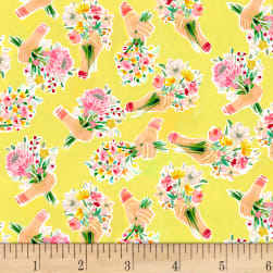 Dear Stella Digital Daybreak Hand Bouquet Goldfinch
