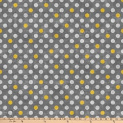 Northcott Spot On Medium Polka Dot Charcoal