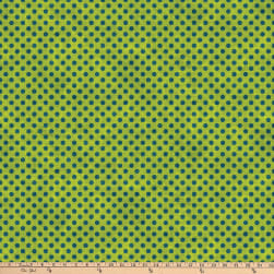 Northcott Spot On Mini Polka Dot Chartreuse