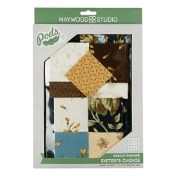 Maywood Studio Pods Quilt Kit English Countryside Sister's