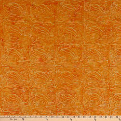 Island Batik Whatnot Swirly Stripe Orange