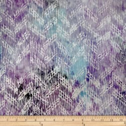 Batik by Mirah Milky Mist Crosshatches Prisma Purple