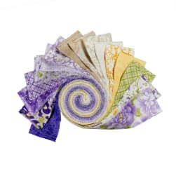 Kaufman Roll Ups Beckford Terrace Wisteria, 40 pcs.