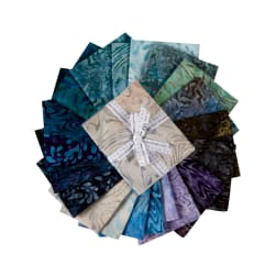 Kaufman Artisan Batiks Fat Quarter Bundles Aqua Spa