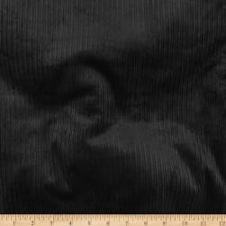 Telio 8W Stretch Corduroy Cotton Black Fabric